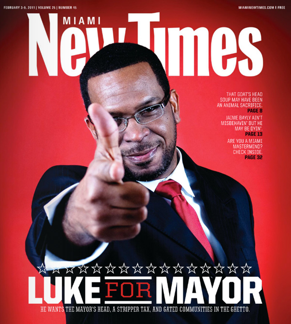 Luther Campbell running for Mayor of Miami