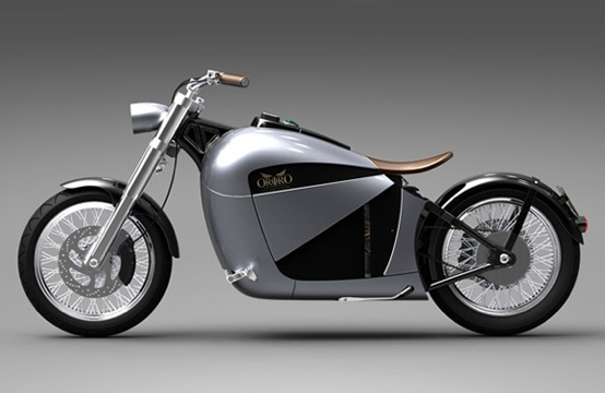 Orphiro's Electric Motorcycle