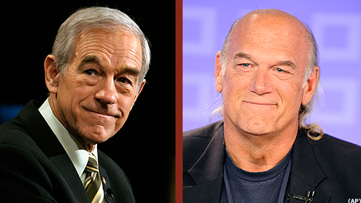Ron Paul's running mate: Jesse Ventura?