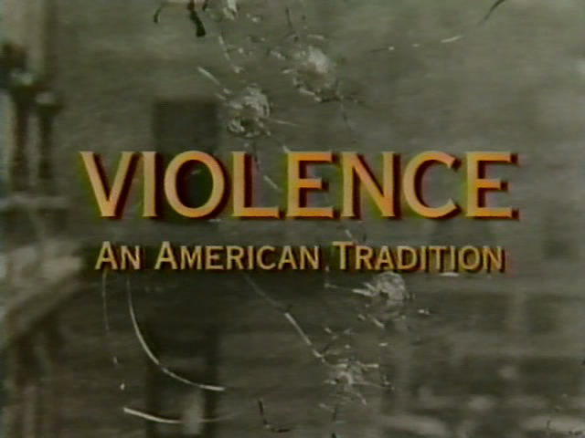 """Violence in America"" HBO Documentary 1995"